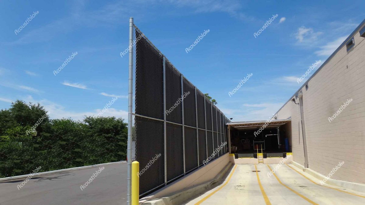 Noise Reducing Fences