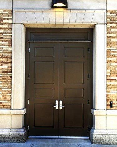 Recessed Panel Steel Doors & Frames