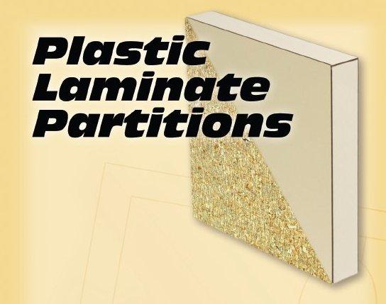 Plastic Laminate Partitions