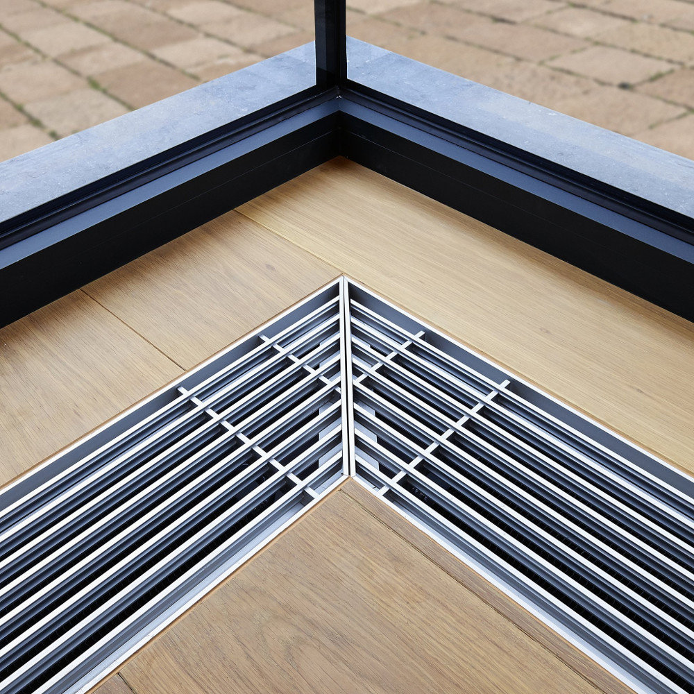 Linear Bar Grille Frame Styles