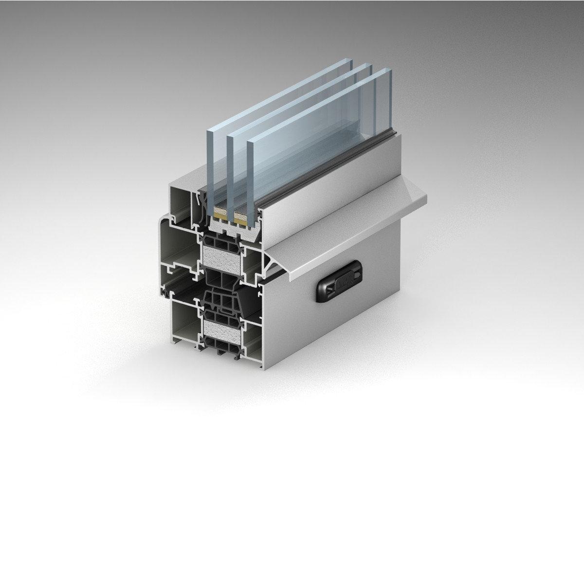 Window and Door System with Thermal Break