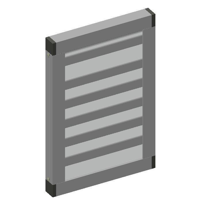 Ventilation Louvers System