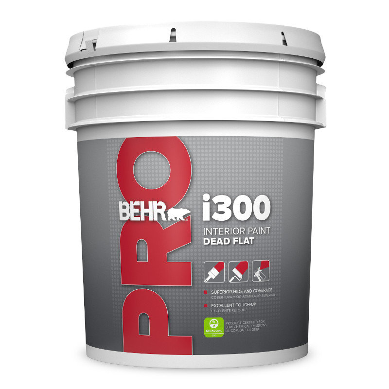 BEHR PRO™ i300 Series Interior Flat Paint No. PR310
