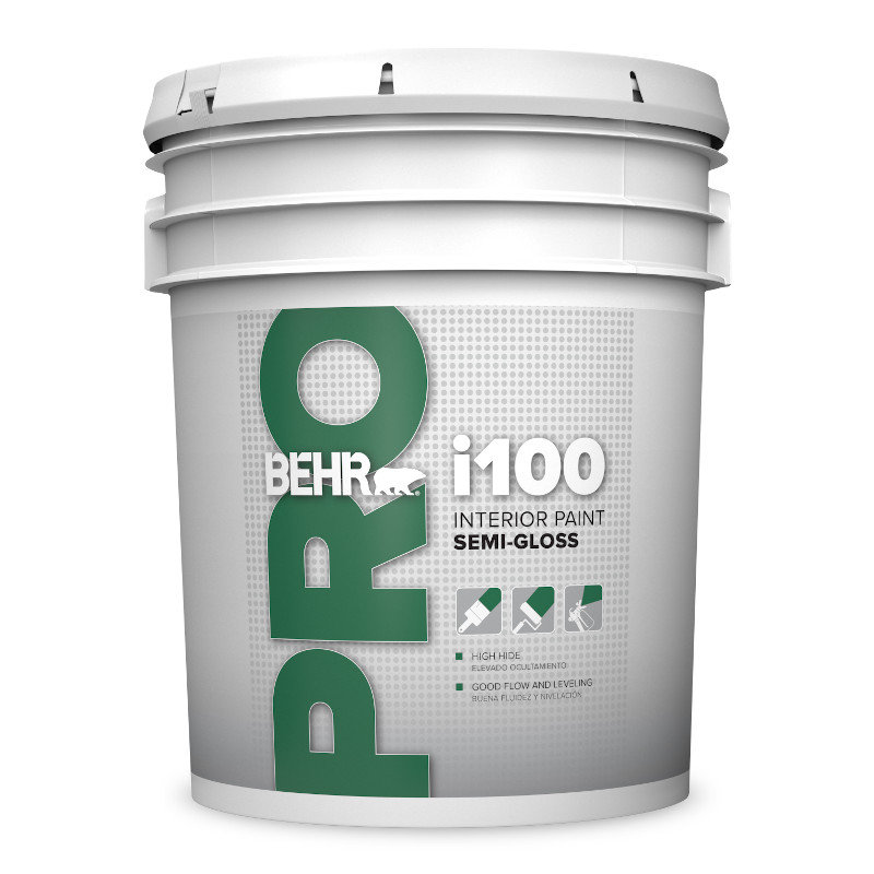 BEHR PRO™ i100 Interior Semi-Gloss Paint No. PR170