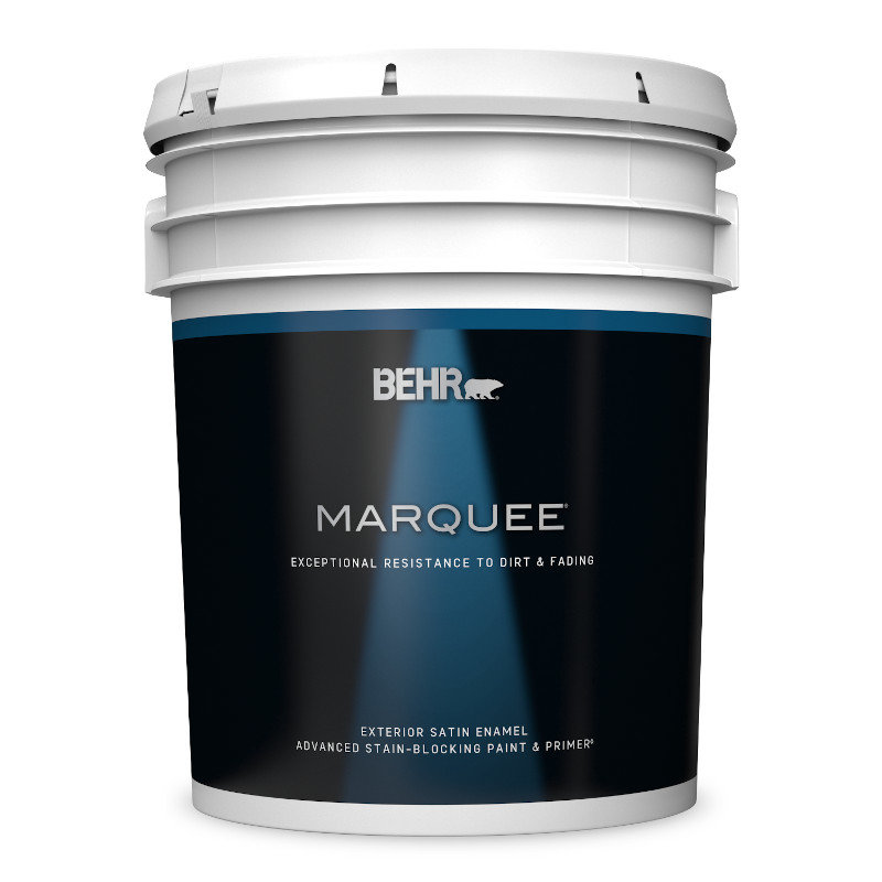 BEHR MARQUEE® Exterior Satin Paint Stain Blocking Paint & Primer No. 9450
