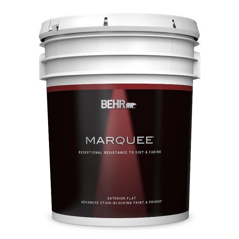 BEHR MARQUEE® Exterior Flat Paint Stain Blocking Paint & Primer No. 4450