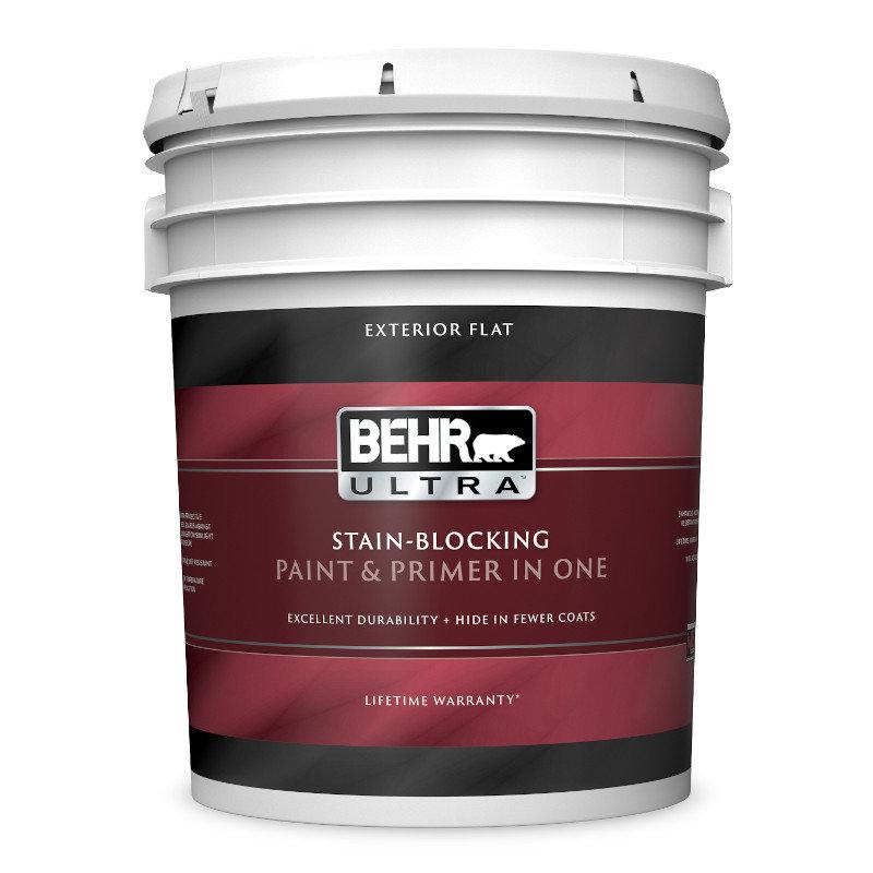 BEHR ULTRA® Exterior Flat Paint No. 4850