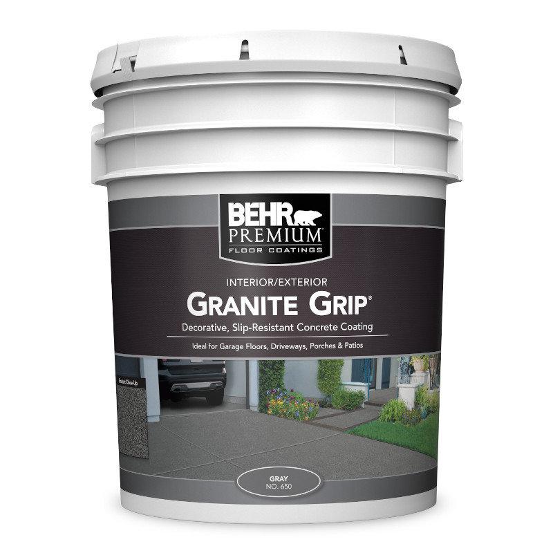 Granite Grip™ Concrete Coating No. 650 & No. 655