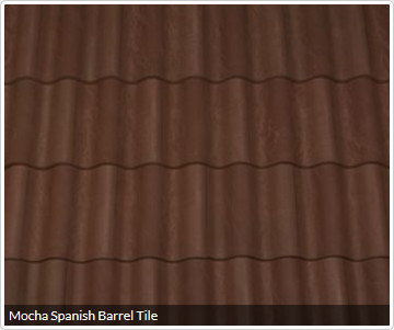 Mocha Spanish Barrel Tile