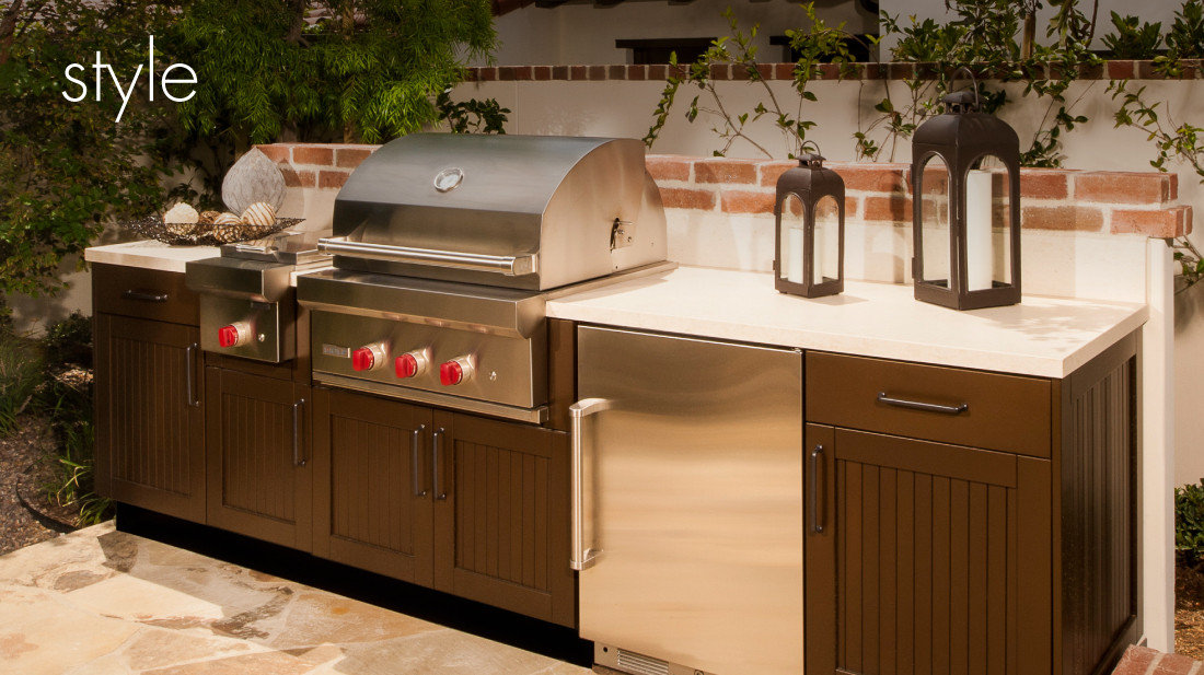 Danver Stainless Steel Cabinetry image | Danver Stainless Steel Cabinetry