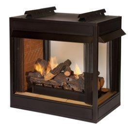 Gas Firebox - Vent-Free - Premium Peninsula - 36-inch