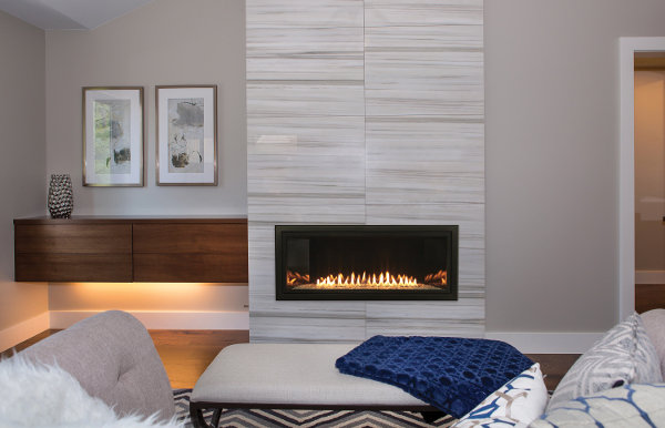 Gas Fireplace - Vent-Free - Linear - 36-inch