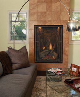 Gas Fireplace - Direct Vent