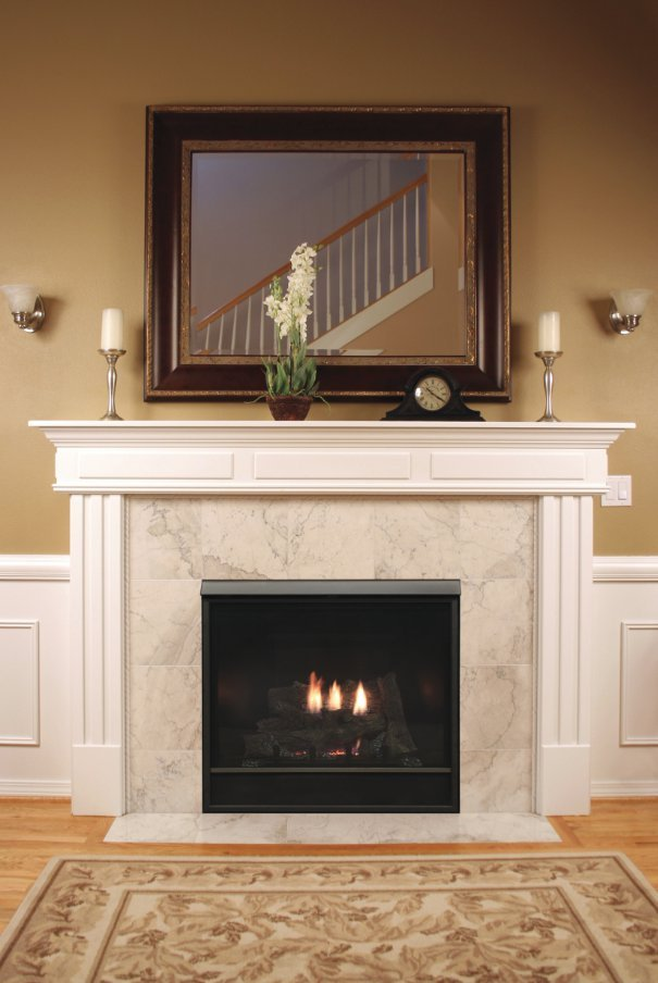 Gas Fireplace - Direct-Vent - Deluxe Clean-Face - 32/36/42-inch