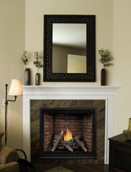 Gas Fireplace - Direct-Vent - Premium Traditional Clean-Face - 32/36/42-inch