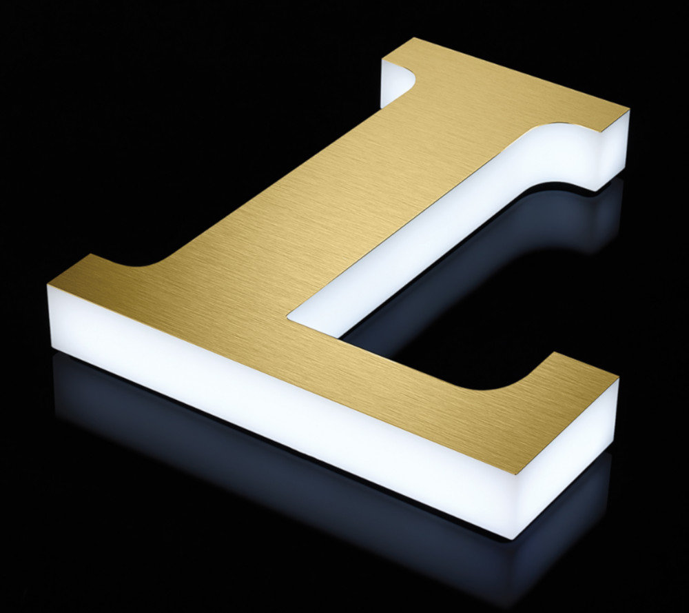 LUXE - Premium Precision-Machined Acrylic Letters