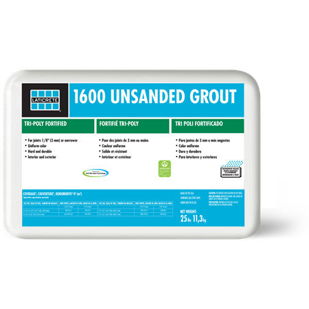 1600 Unsanded Grout