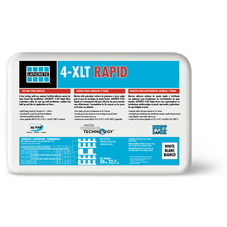 4-XLT Rapid Thin-Set Mortars