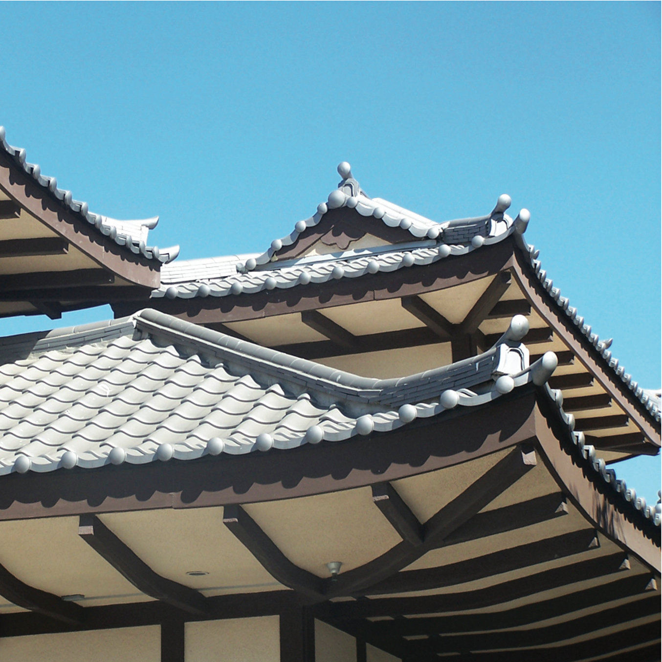 Oriental - Japanese Style Clay Roof Tile