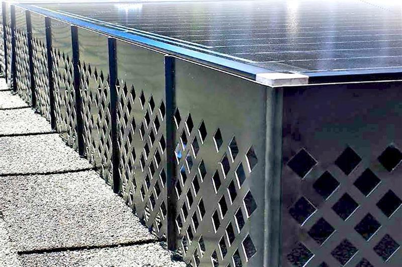 SolaTrim™ Pest Barrier for Solar Panels