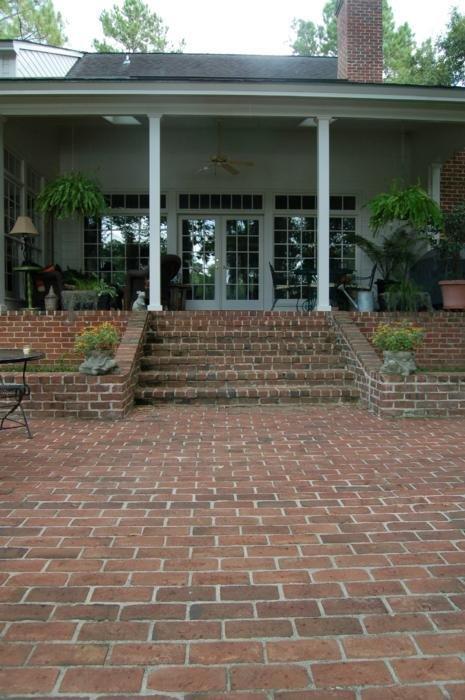 Handmade Brick as Pavers