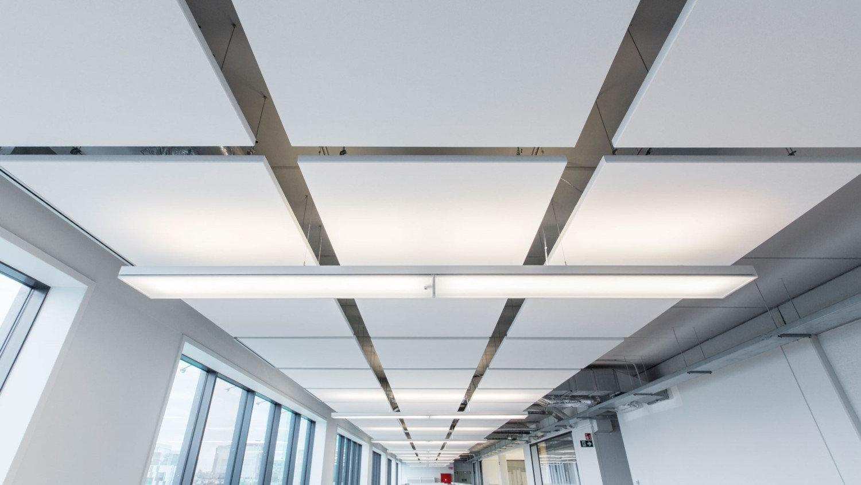 Acoustical Cloud Ceiling Panels