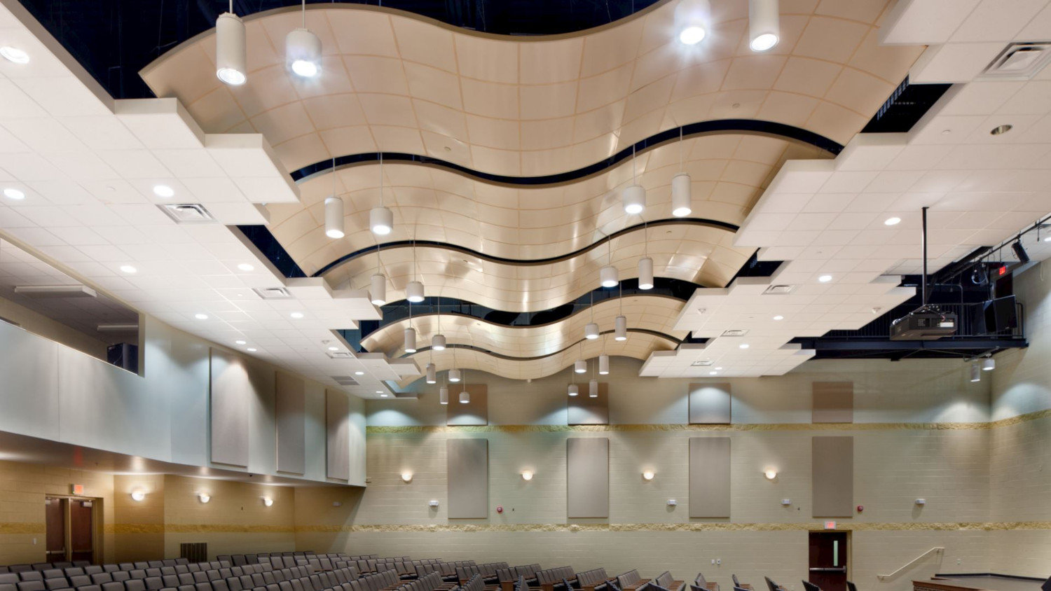 Curved Ceiling System