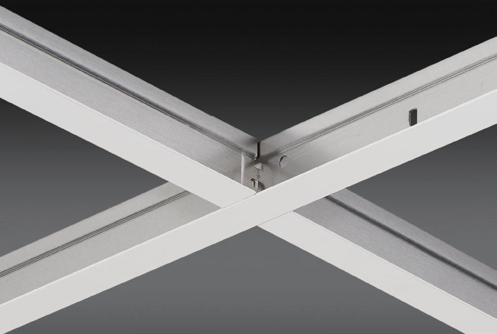 "15/16"" All Aluminum Exposed Grid Ceiling System"
