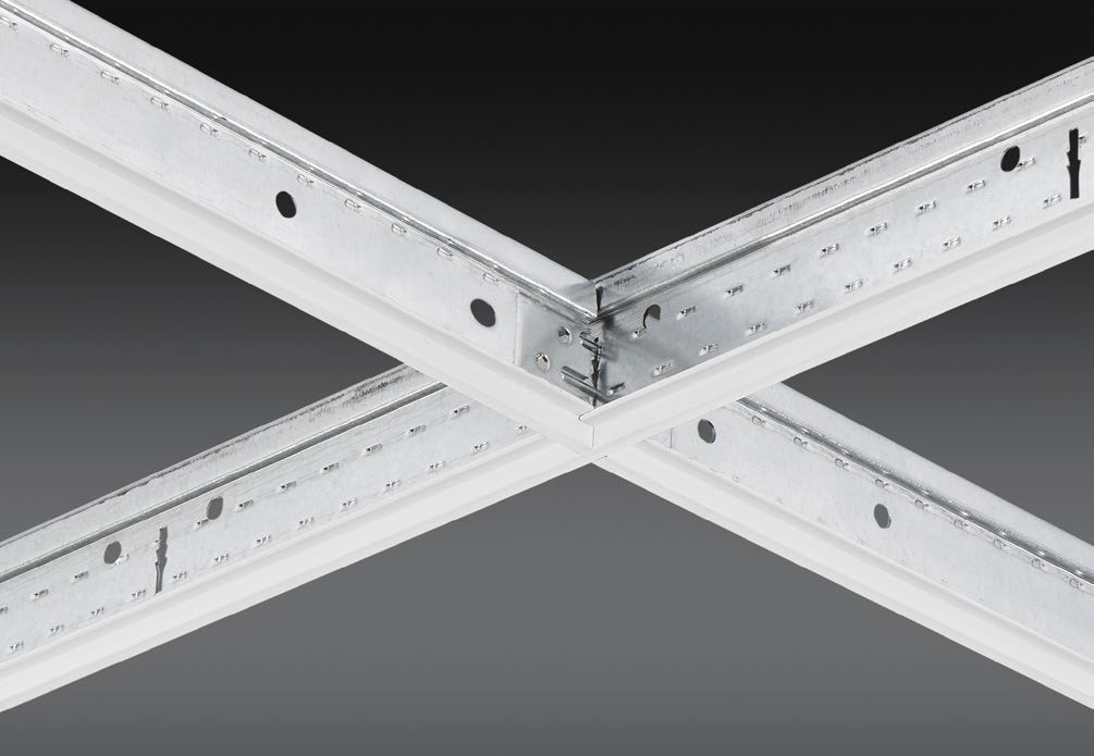 """9/16"""" Integrity™ Exposed Drop Ceiling Grid System"""