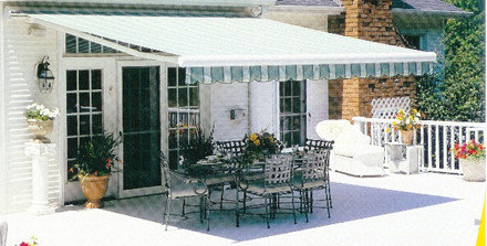 Retractable Lateral Arm Fabric Patio and Deck Awnings