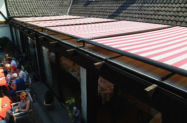 Retractable Shade System