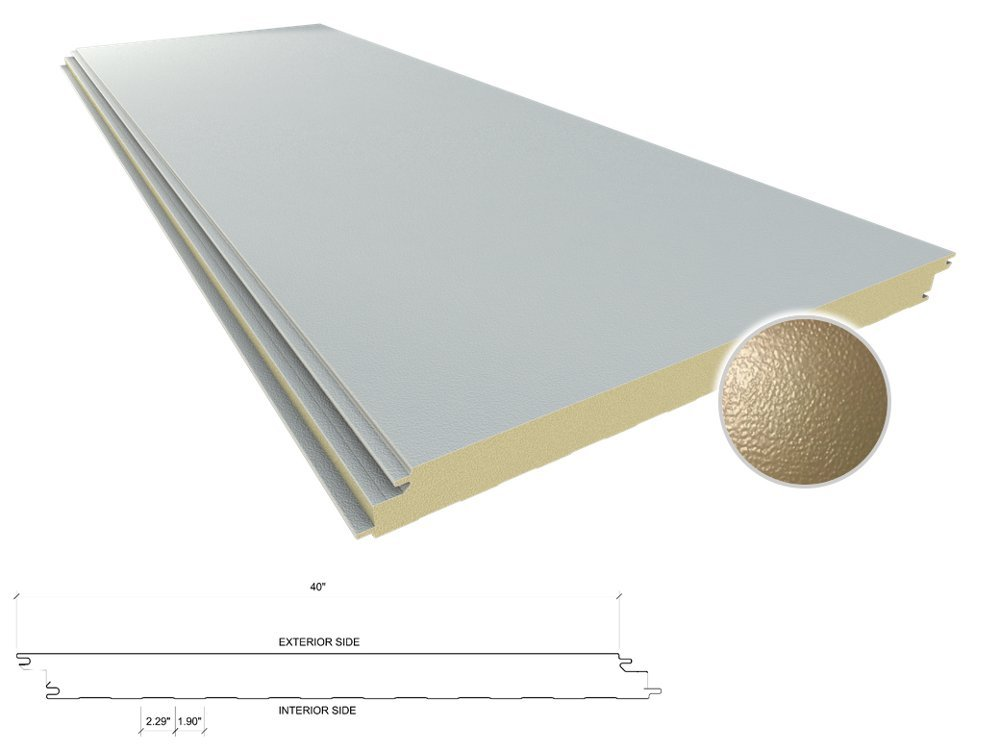 All Weather Insulated Panels image   All Weather Insulated Panels