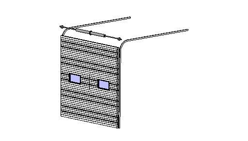 Doors And Hardware Sectional Doors Commercial Model 2400