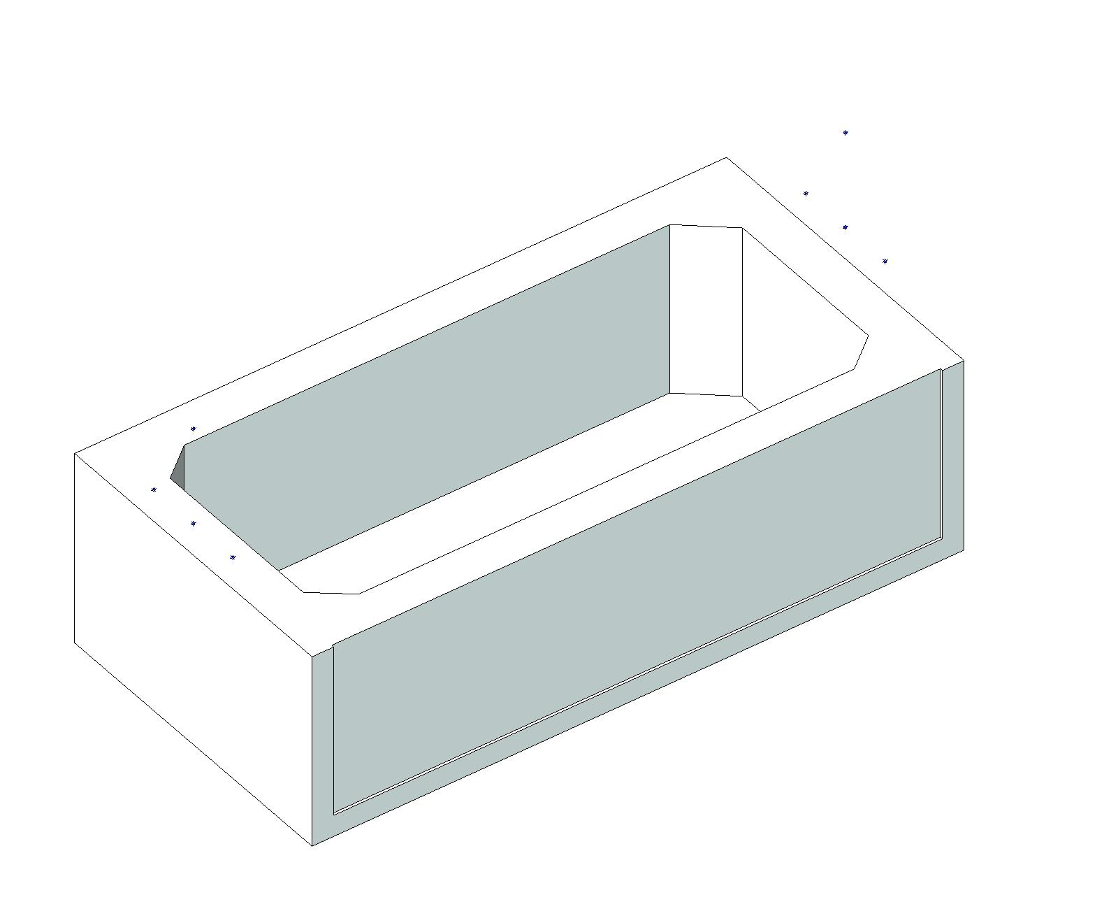 Simple Catalog Of Bathroom Fixtures By American Standard In AUTOCAD DRAWING
