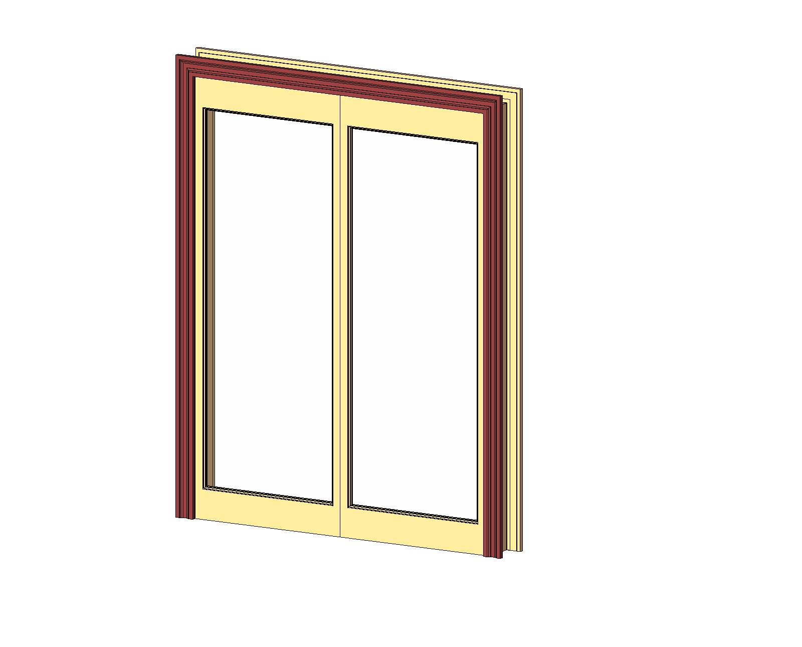 1290 #AC941F Doors And Hardware: Common Doors: Entry Double: 1 Panel Glazed  wallpaper Hardware For Double Entry Doors 46551600