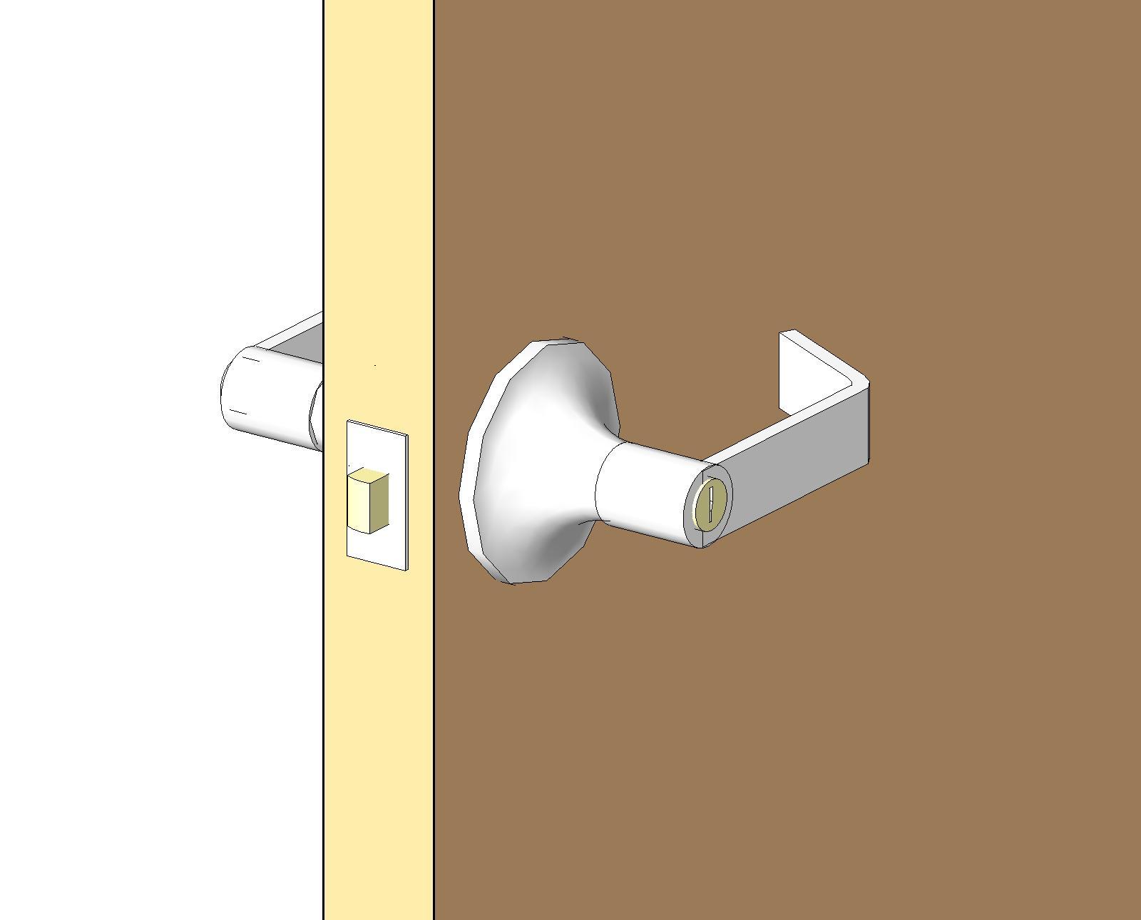 commercial entry door hardware. BIM Content Commercial Entry Door Hardware F