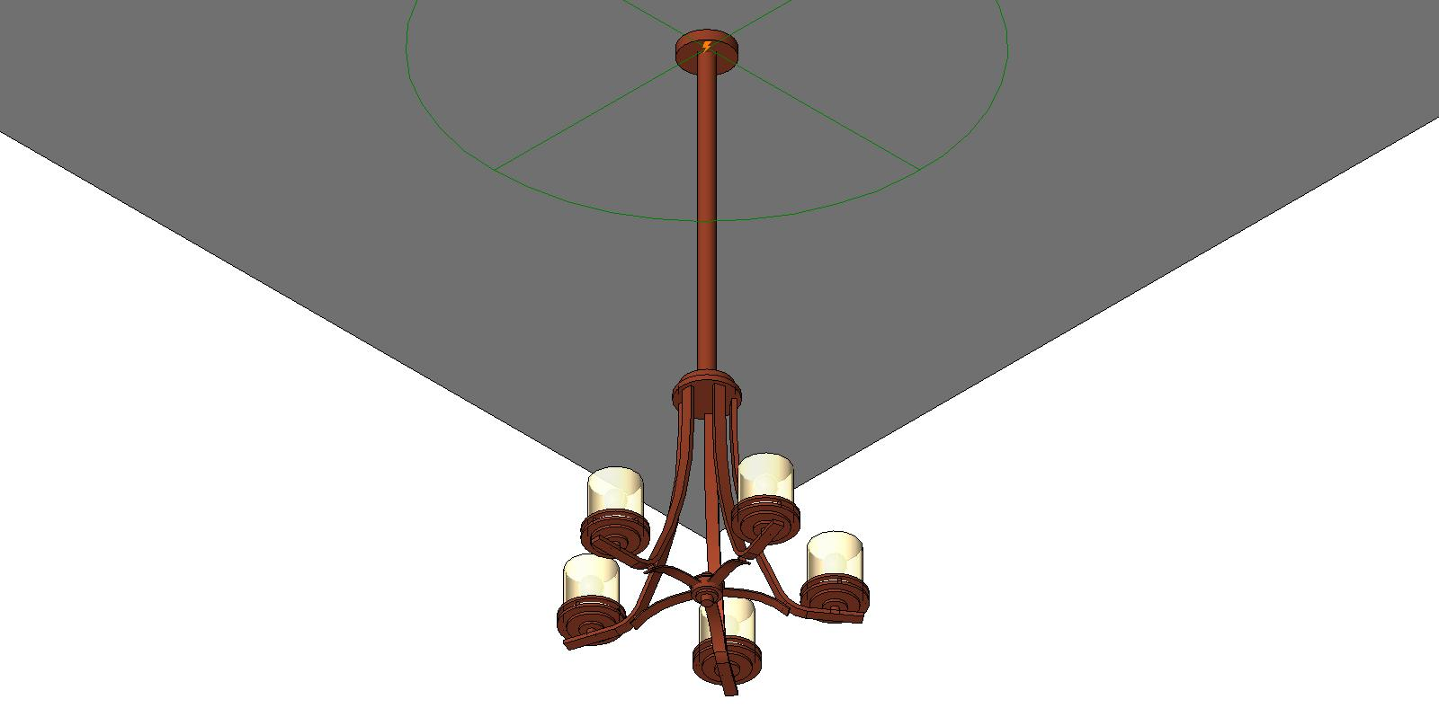 Wall Mounted Light Revit Family : Wall Mounted Light Fixture Revit Family - Light Fixtures