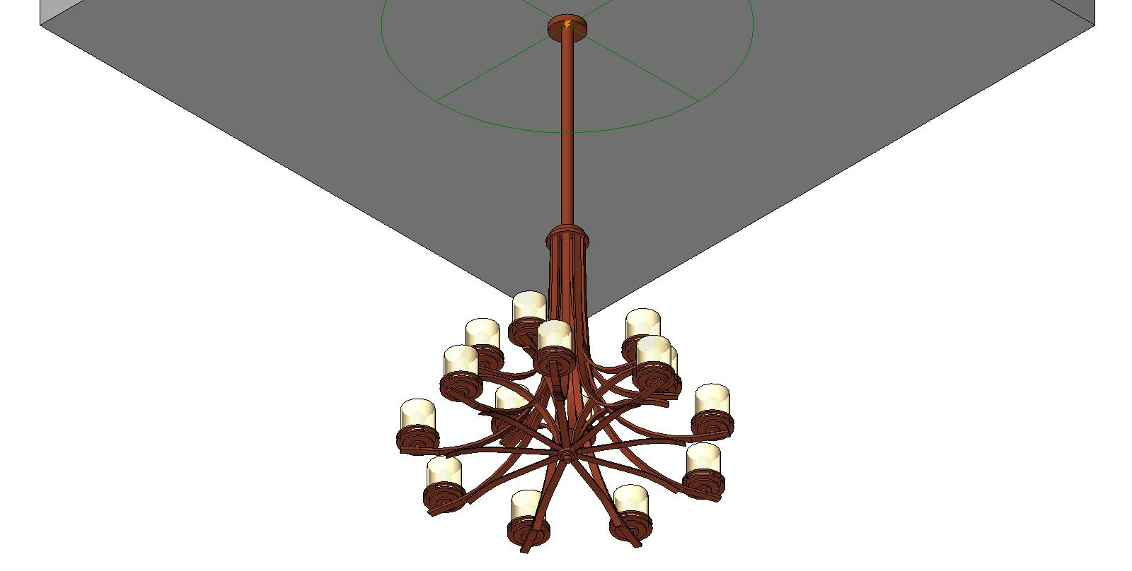 Pendant Lighting Revit