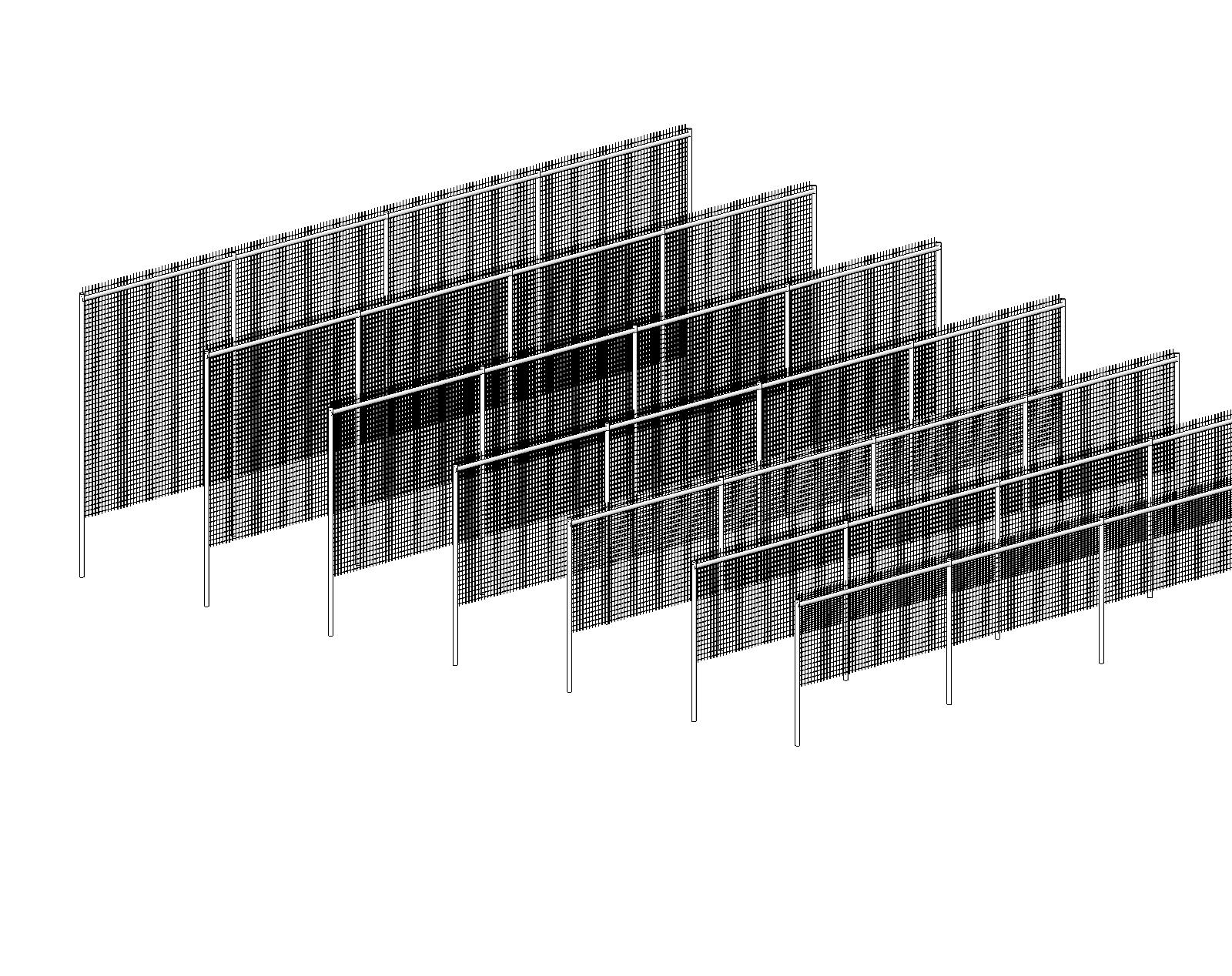 Generic Fences And Gates Bim Objects Families