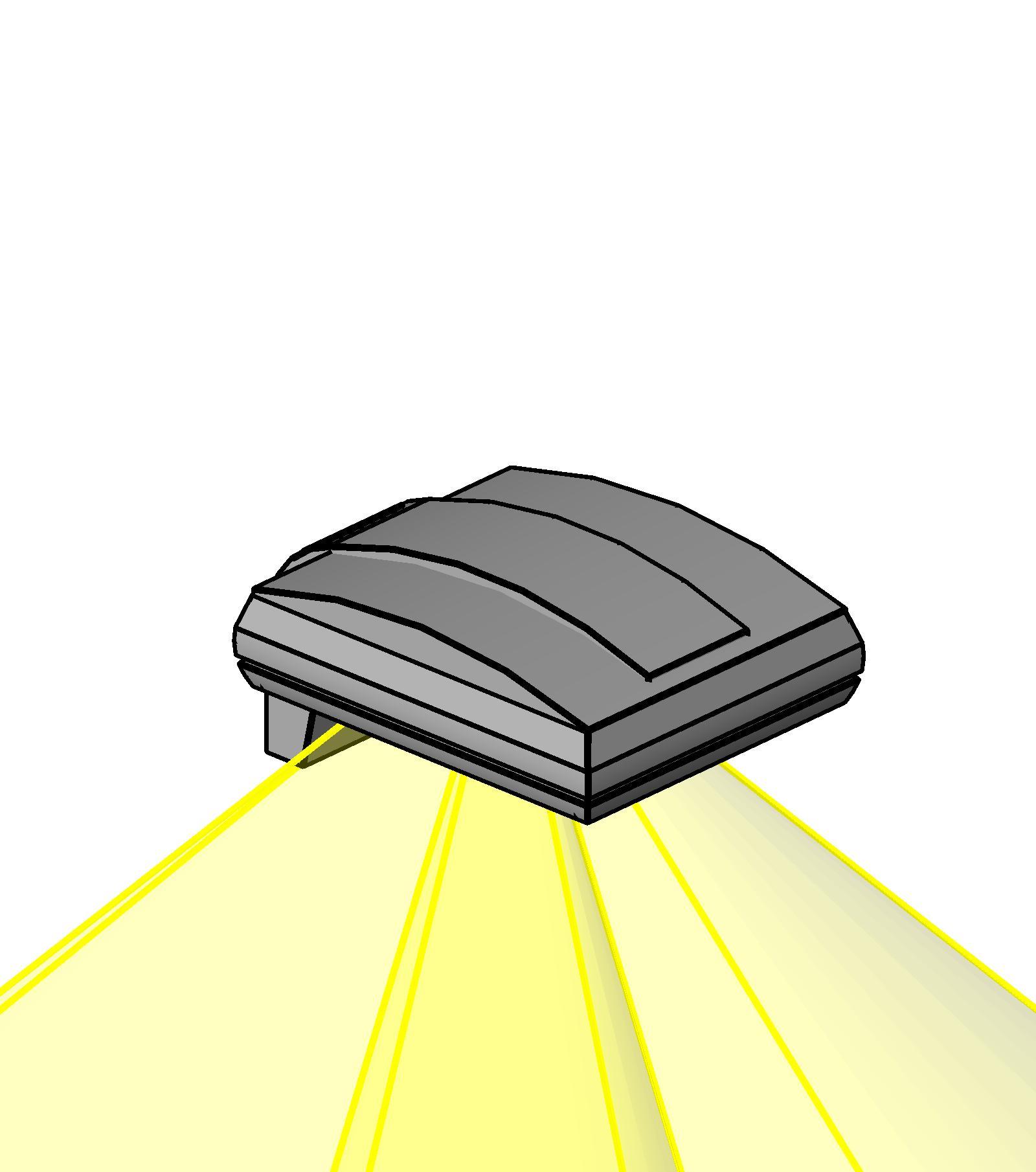 Outdoor Lighting Revit: BIM Objects / Families