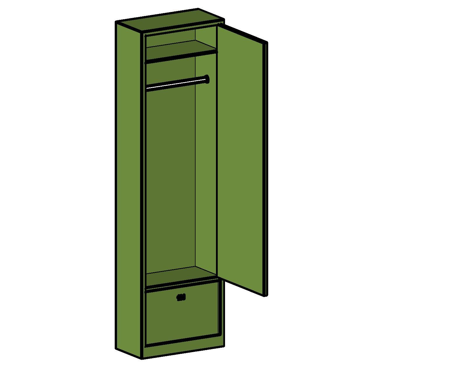 Generic Lockers Bim Objects Families