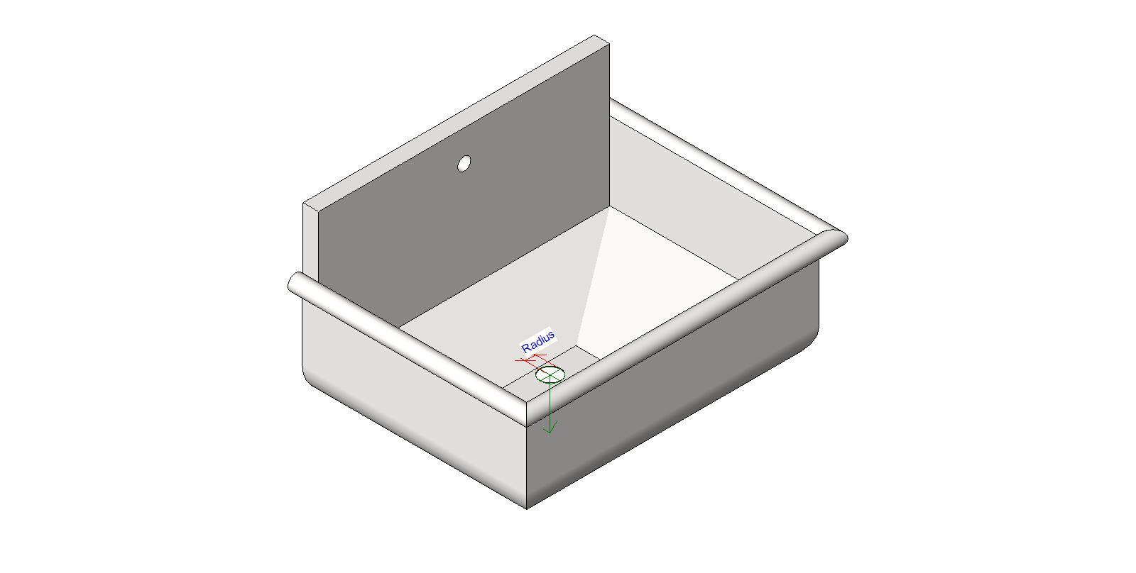 Bathroom Sinks Revit generic residential plumbing fixtures bim objects / families