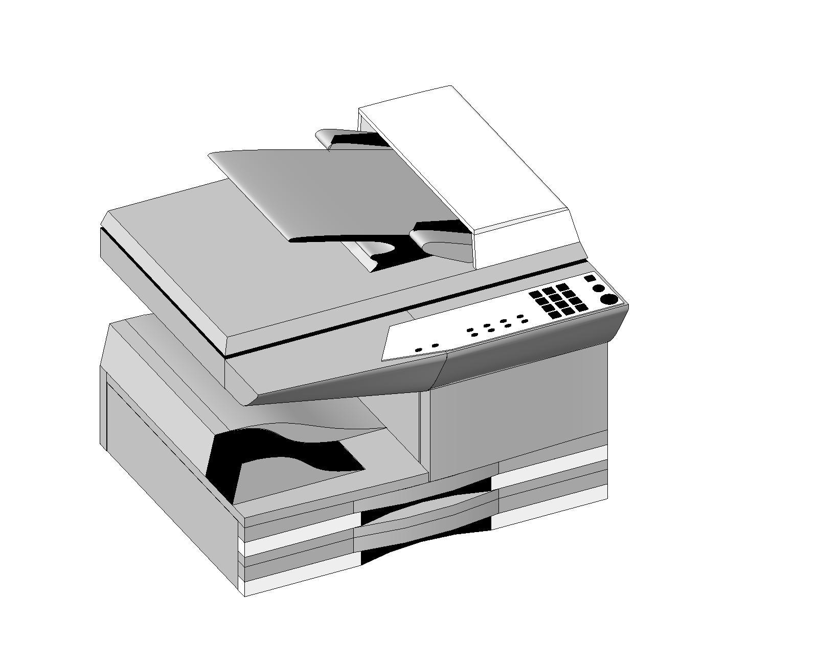 Generic Office Equipment Bim Objects Families