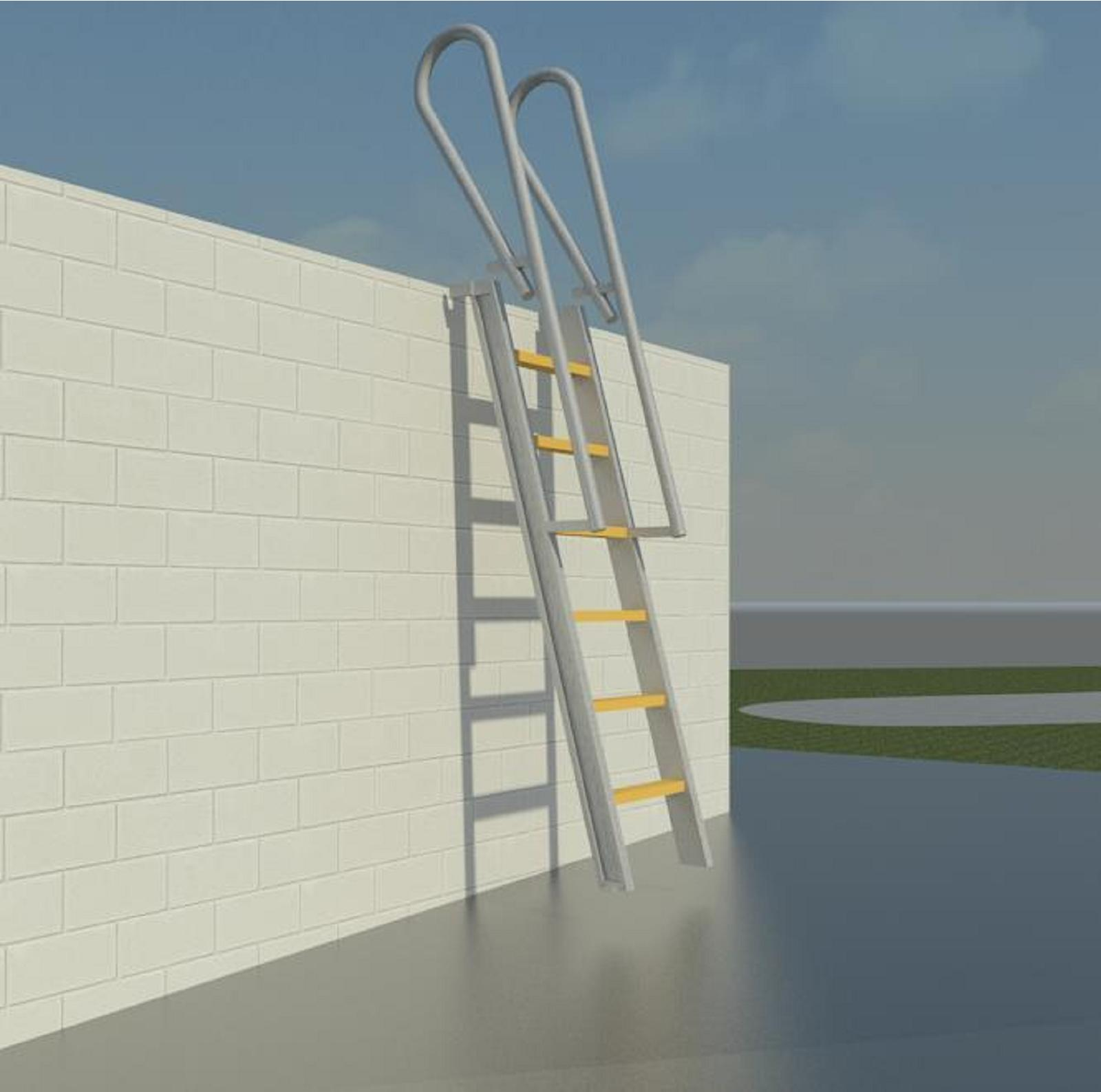 Generic Metal Stairs Bim Objects Families