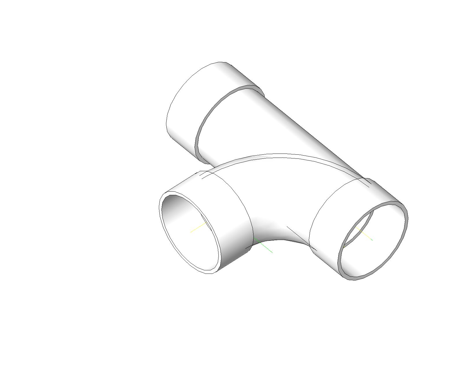 pipe fittings cad
