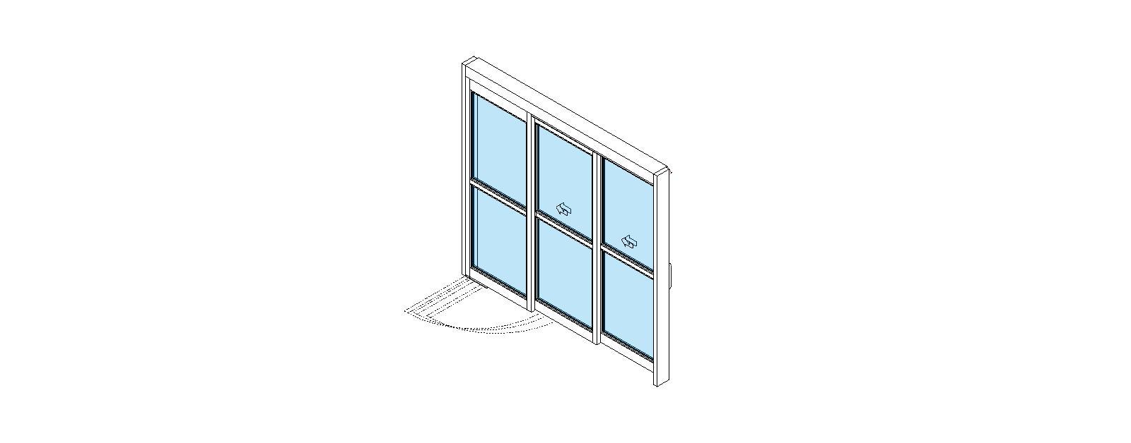 ICU Doors: ICU Sliding Doors: VersaMax - Single Telescopic