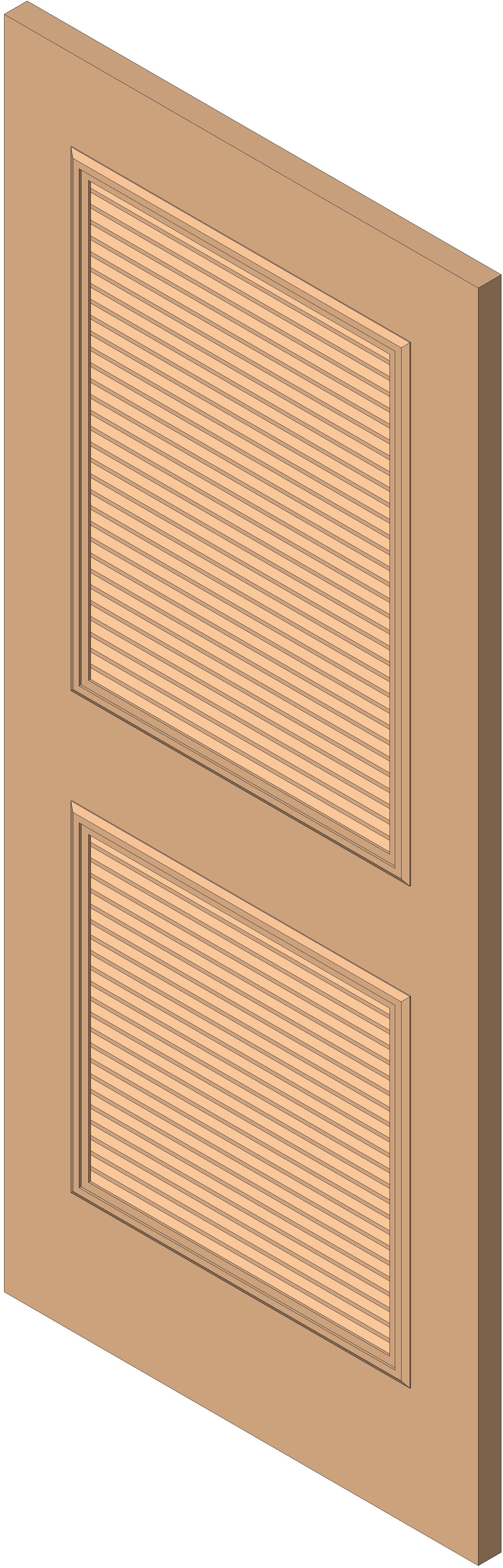 #B46217 BIM Objects / Families Most Effective 5165 Metal Louver Doors pictures with 1600x4987 px on helpvideos.info - Air Conditioners, Air Coolers and more