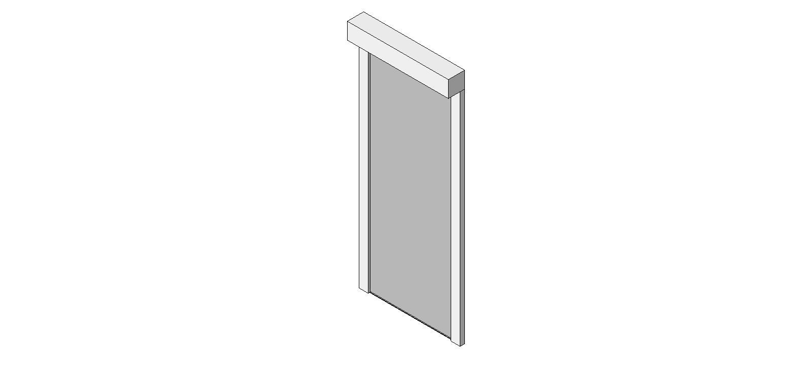 Fire Smoke Curtains: Custom: DSI SD BIM from Door Systems, Inc.
