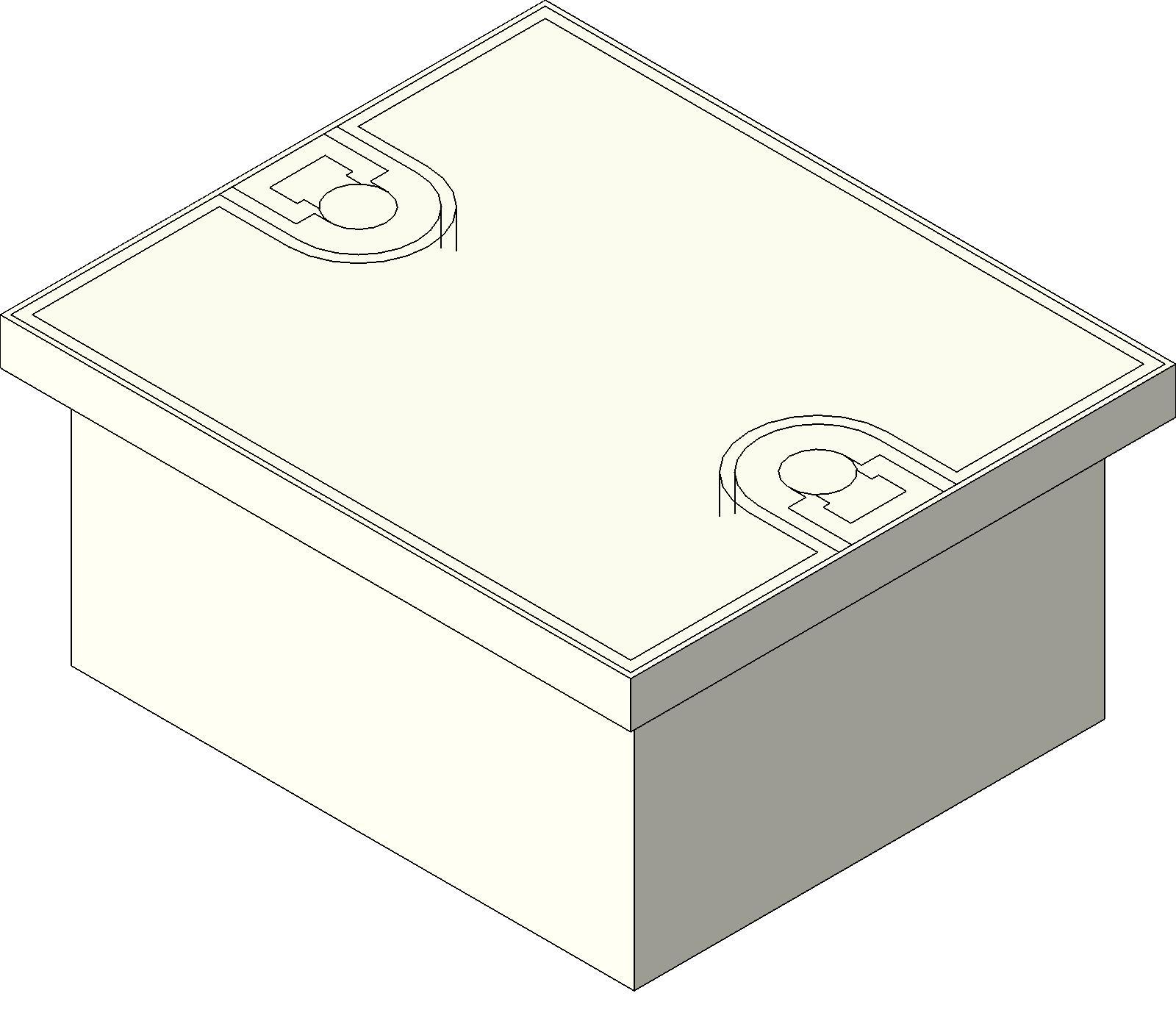 Electrical Box_FSR_FL H20 1 bim objects families electrical devices electrical boxes Revit System Family at soozxer.org