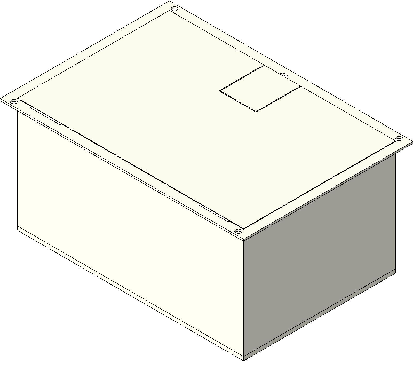 Electrical Box_FSR_FL1500 2D bim objects families electrical devices electrical boxes Revit System Family at soozxer.org